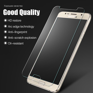 Для Samsung Galaxy J1 J3 J5 J7 A3 A5 A7 2016 2017 Grand Prime S7 S6 S5 S4, закаленное стекло, прозрачная передняя защитная пленка для телефона