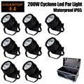 Штабелируемый 8в1 Дорожный Чехол  200 Вт  форма урагана  наружный светодиодный прожектор  встроенный вентилятор  охлаждающий  влагостойкий ис...
