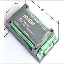 6 Ejes CNC Mach3 200 KHZ ETHNET Internet Tarjeta Junta Stepper motor Controller PWM NVME