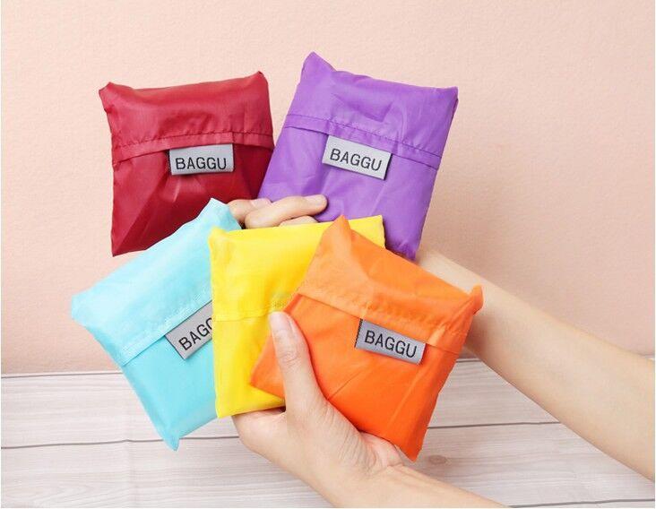 Online Shop 500pcs/lot Customized BAGGU square pocket Shopping bag ...