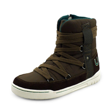 Brand new fashion style boots children boys and girls boots shoes high cut winter warm shoes lace kids sport shoes