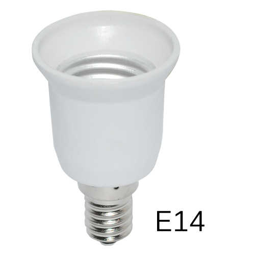 Super cheap LED Adapter E14 to E27 Lamp Holder Converter Socket Light Bulb Lamp Holder Adapter Plug Extender Led Light use