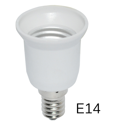 Super Cheap Led Adapter E14 To E27 Lamp Holder Converter Socket Light Bulb Lamp Holder Adapter