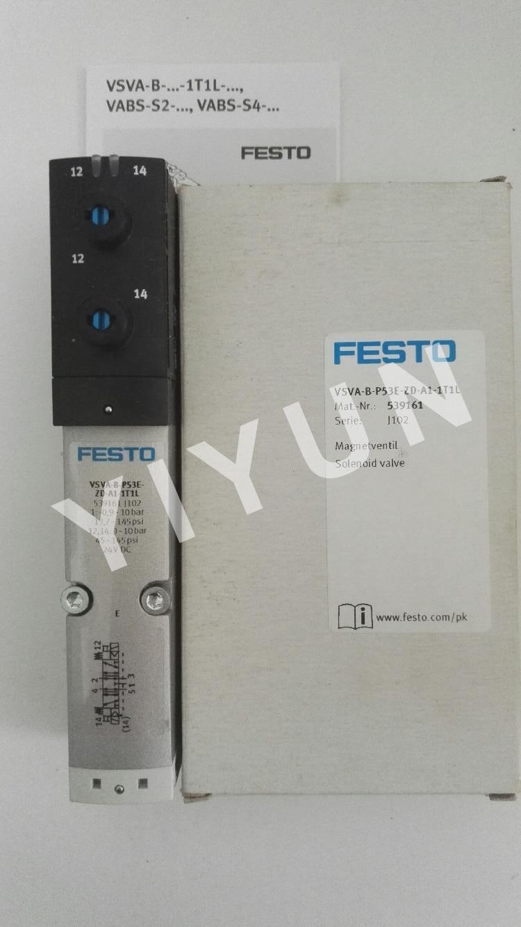 VSVA-B-P53E-ZD-A1-1T1L 539161 VSVA-B-P53U-ZD-A1-1T1L 539160 VSVA-B-M52-AH-A2-1C1 546701 FESTO Solenoid valve gf108 876 a1 n13p gt a1 n13m ge b a2
