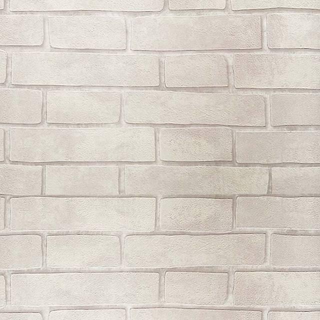 Papier Peint Moderne De Brique Du0027effet Du Blanc 3D Gris De Rouleau De Mur