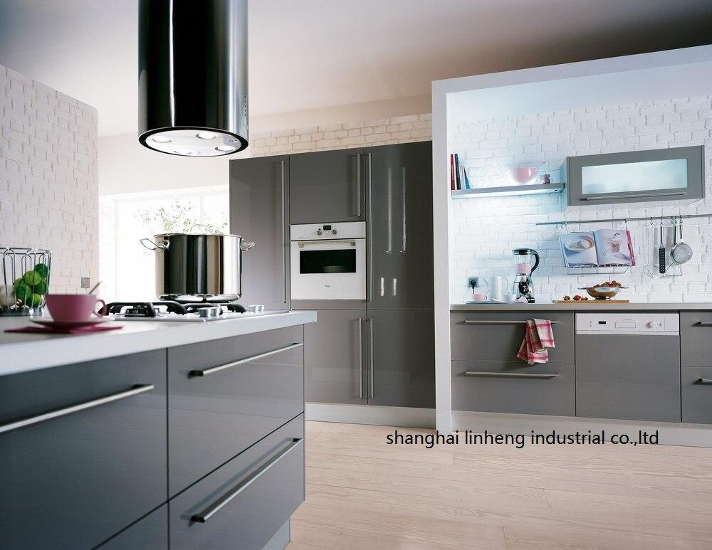 Haute brillant/laque armoires de cuisine mordern (LH-LA064)