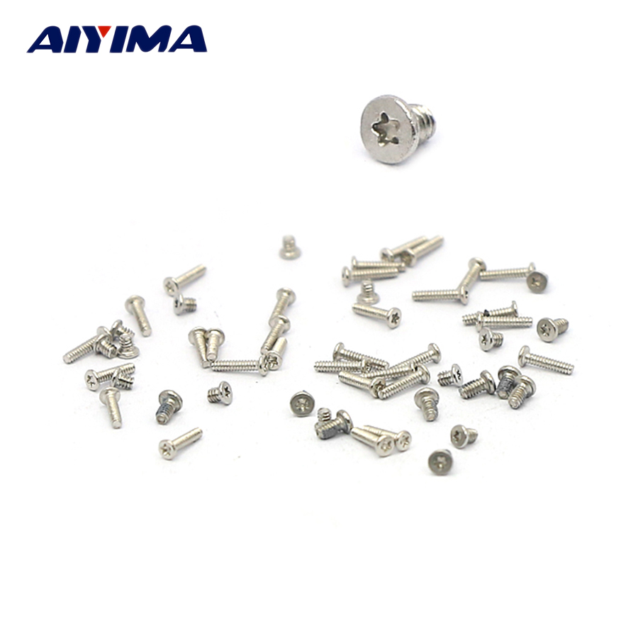 100pcs 5-point five-star slot screws M1*4/M1.2*1.4 Locking screws stainless steel pgy dji phantom 4 3 professional advanced camera lens star filter 4 point 6 point 8 point light star