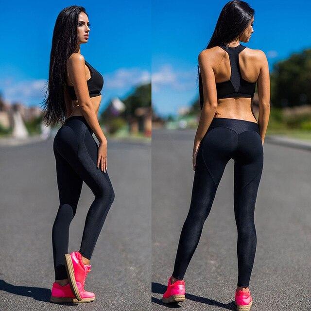 0ccdaadc20e0e Women Yoga Pants Leggings Sport Fitness Running Tights Lady Gym Run Jogging  Athletic Leggins mujer Sportwear Sweatpants