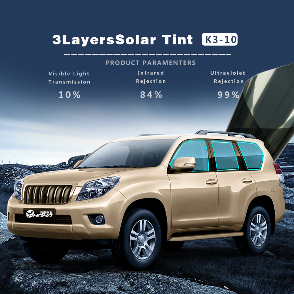 Window Tint Film Tinting Roll 10% VLT UV-Proof Scratch Resistant for Car House Commercial 3 layers glue tinted solar tint mirrorWindow Tint Film Tinting Roll 10% VLT UV-Proof Scratch Resistant for Car House Commercial 3 layers glue tinted solar tint mirror