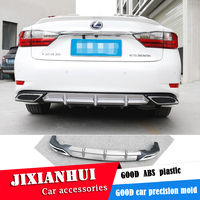For Lexus ES250 Body kit spoiler 2018 2019 For ES300 ES200 ABS Rear lip rear spoiler front Bumper Diffuser Bumpers Protector