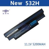 5200MAH 6cells New Laptop Battery FOR ACER Aspire One AO533 KK3G AO533 WW3G EMachines 350 350