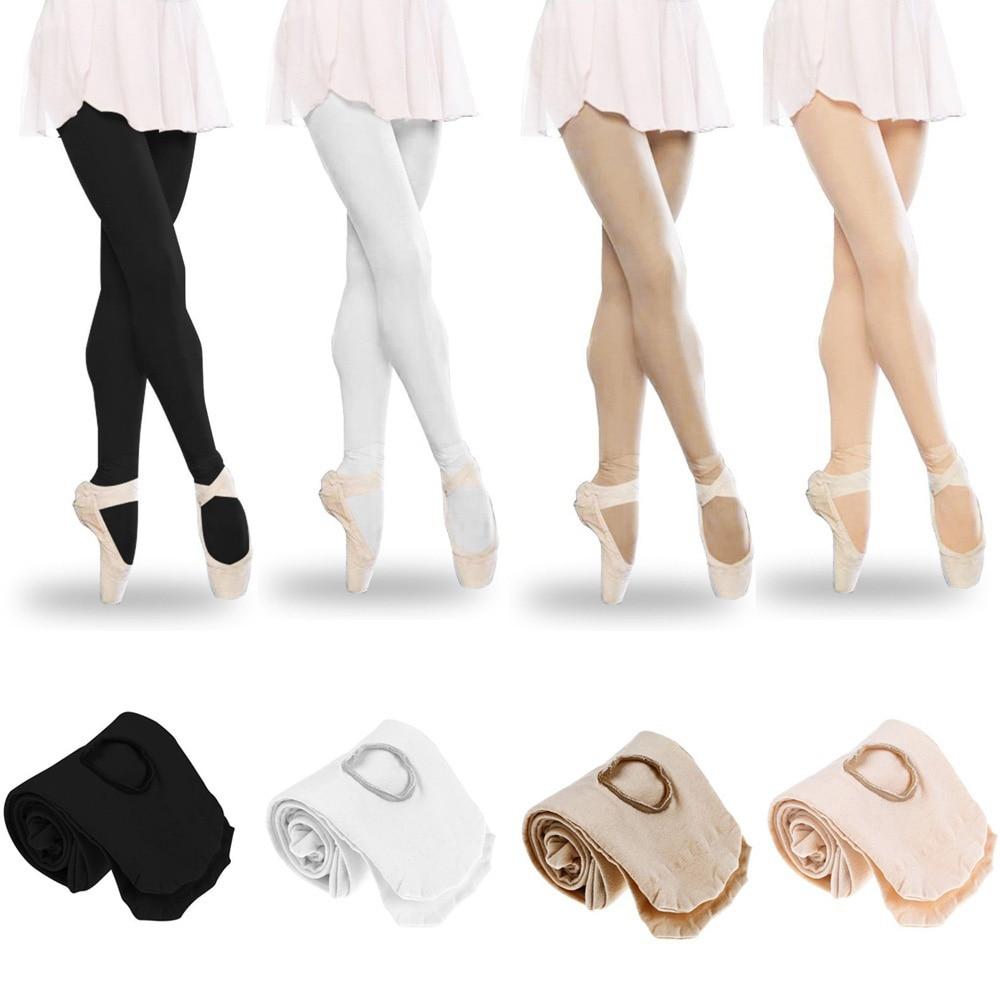 Fashion Design Women Girls Dancer Soft Wearing Ballet Dance Stockings Seamless Tights Dancing Socks Sportswear Accessories