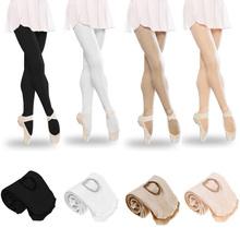 Fashion Design kobiety dziewczęta tancerz miękkie noszenie taniec baletowy pończochy bezszwowe rajstopy taniec skarpetki akcesoria sportowe tanie tanio WOMEN 34669 Wiosna Nylon
