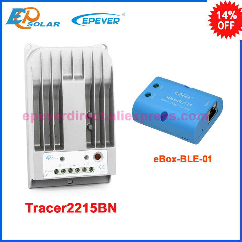 Controller MPPT Tracer2215BN 20A 20amp solar panel regulator bluetooth function phone APP use EPEVER free shippingController MPPT Tracer2215BN 20A 20amp solar panel regulator bluetooth function phone APP use EPEVER free shipping