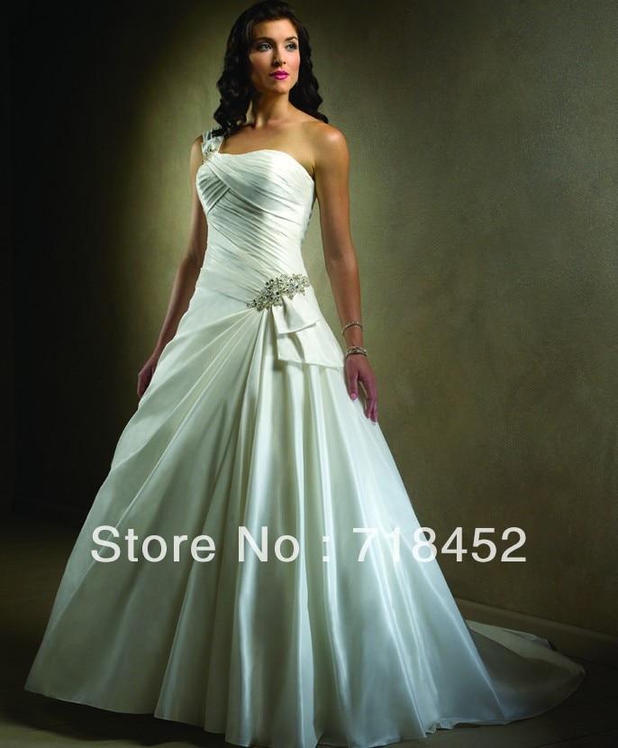 2014 New Fashion Cinderella Design Wedding Dress One
