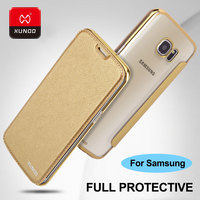 Ultra Thin Transparent Protect Case For Samsung Galaxy S7 Edge S6 Plus Phone Luxury Leather Wallet