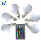 2W 3W 5w 7W 9W RGB E27 LED Bulb Light Stage Lamp 12 Colors With Remote Control Led Lights for Home AC 85-265V RGB + Cool White