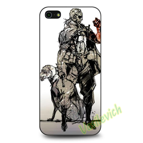 Metal Gear Solid V The Phantom Pain (2) fashion phone Case cover for iphone 4 4S 5 5S 5C SE 6 6 plus 6s 6s plus 7 7 plus &jj07