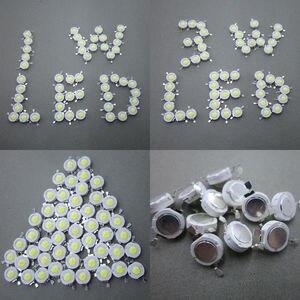 Image 3 - 100 adet 1 W 3 W LED Yüksek Güç LED Soğuk Beyaz Doğal Beyaz Sıcak Beyaz RGB Kırmızı Yeşil Mavi sarı Işık Kaynağı