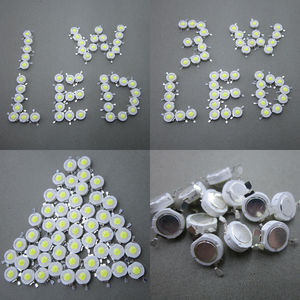 Image 3 - مصابيح LED عالية الطاقة 100 قطعة 1 واط 3 واط أبيض بارد أبيض طبيعي دافئ أبيض RGB أحمر أخضر أزرق أصفر مصدر ضوء
