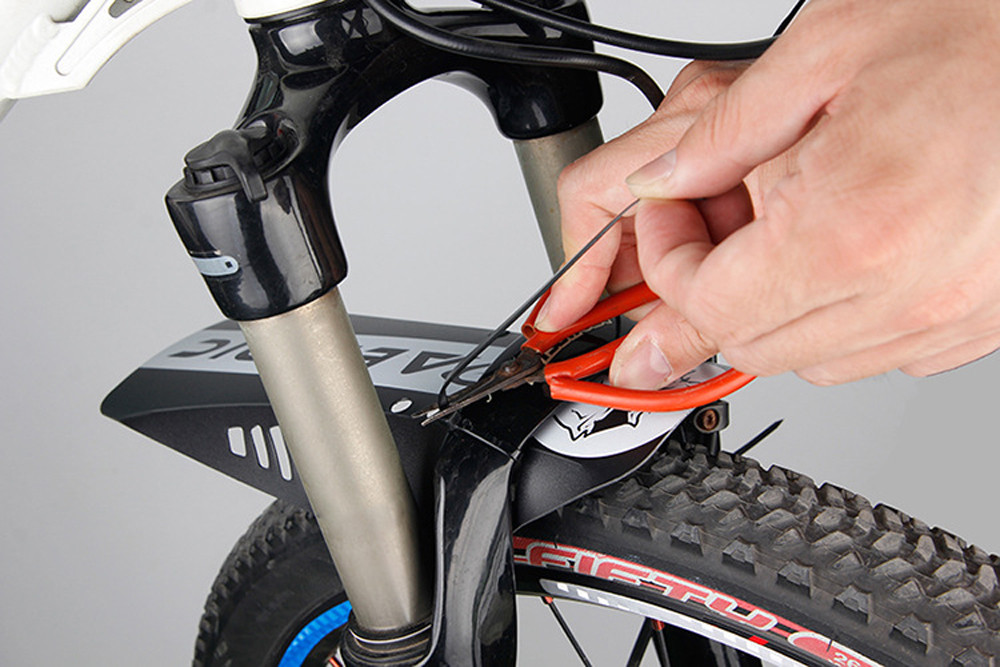 Bike Tool Bicycle Accessories MTB Mudguard Bike Front Back Mud Guard Marsh Fender Slim Fork Simple Fender