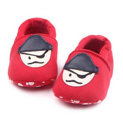 Romirus ฤดูใบไม้ร่วงเด็ก Prewalker ด้านล่างนุ่มป้องกันลื่นเด็กทารกรองเท้าเด็กวัยหัดเดินการ์ตูน Mickey Mouse