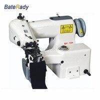 Qy 101d промышленности потайного швейная машина, прямой привод носок, Перчатки, baterady свитер вырез, манжеты, мотобрюки швейная машина 220 В