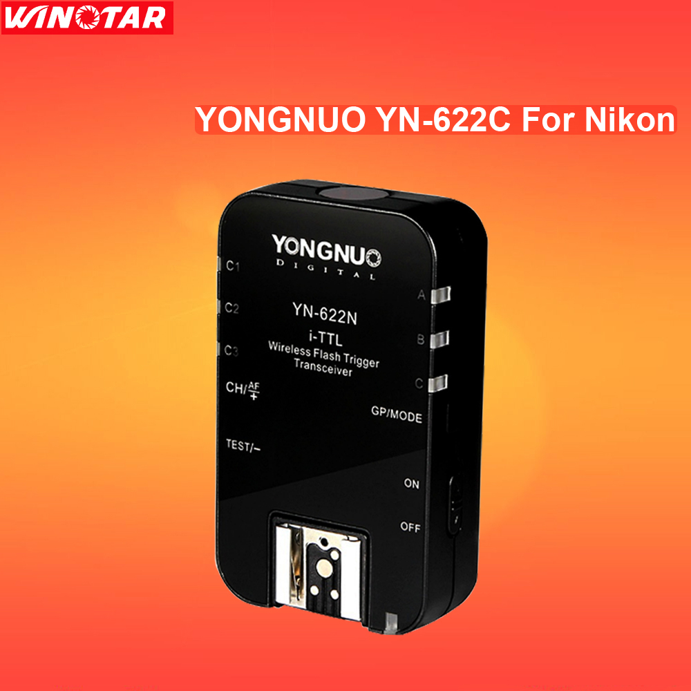 Yongnuo YN-622N Single Transceiver YN 622N Wireless i-TTL Flash Trigger For Nikon D810A D810 D800 D750 D610 D7500 D5600 D3400 D5 цена