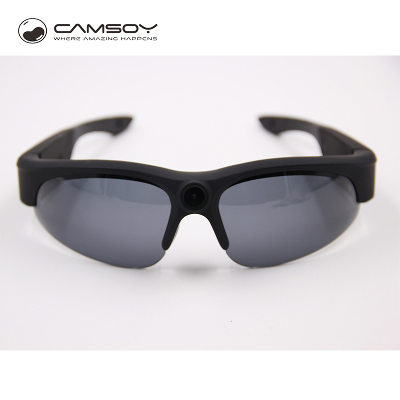 Réel 1080 P Full HD lunettes de soleil caméra UV400 Protection Action caméra lunettes léger lunettes caméra 10 méga Pixel vidéo Cam