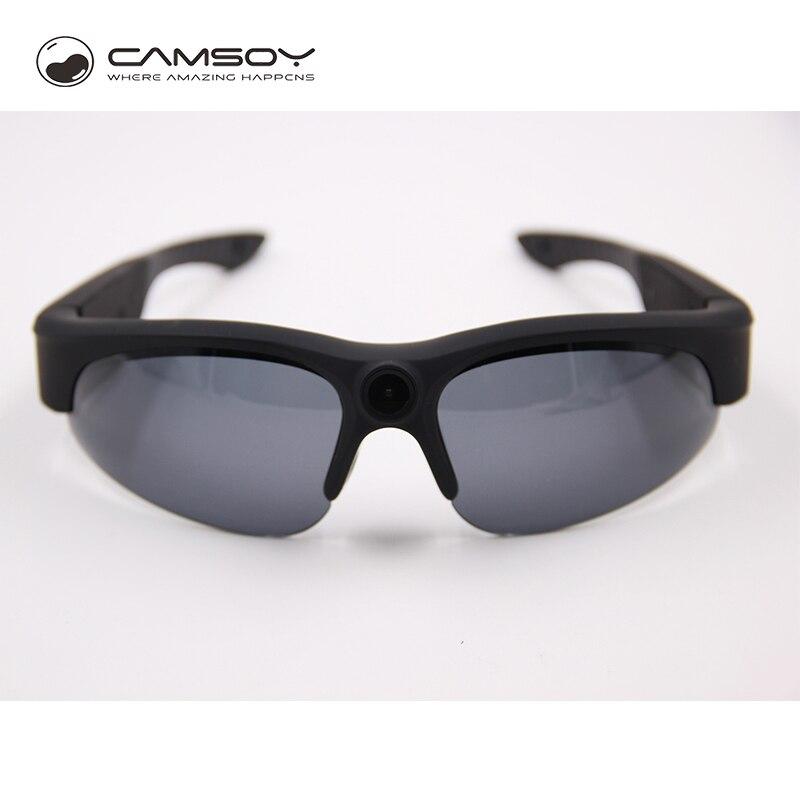Real 1080P Full HD Sunglasses Camera UV400 Protection Action Camera Glasses Lightweight Glasses Camera 10 Mega Pixel Video Cam