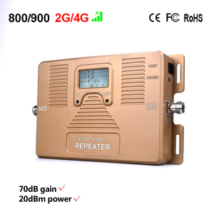 Image 2 - Speciale Aanbieding! LCD display Dual band 2g 4g 800 + 900MHz mobiele signaalversterker Cellulaire signaal versterker 2g 4g repeater Alleen booster