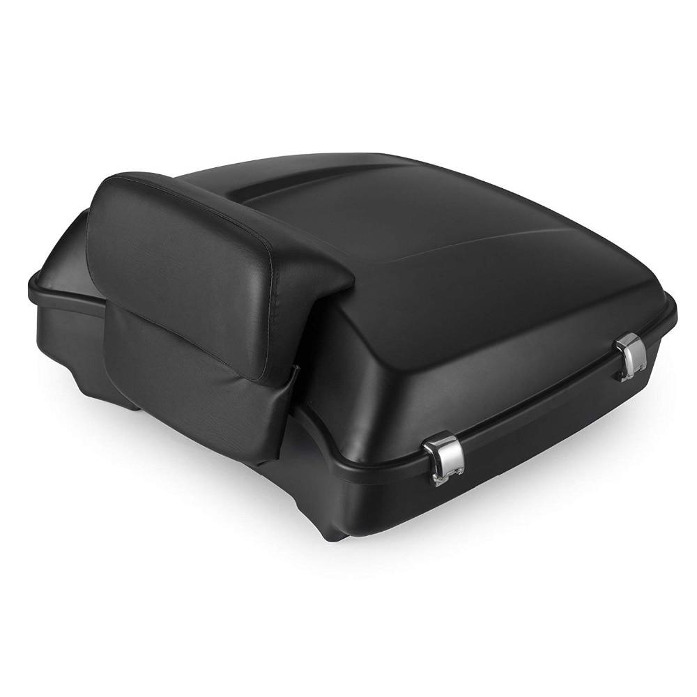 amazoncom ego bike black motorcycle trunk tour pack - 1000×1000