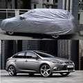 1Pcs Grey New Outdoor Proof Sun Dust Car Cover for Ford Focus Sedan