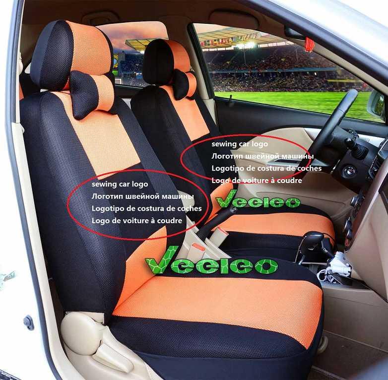 Efecto negro 3d fundas para asientos para suzuki swift asiento del coche referencia completamente