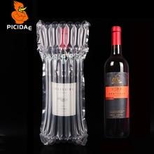 750 мл красное вино воздушный шар для колонны надувная Упаковка рулон пленка защита от падения буфера пузырьки фрукты оливковое масло чашка бутылка
