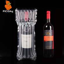 750ml Red wine Air column Balloon Inflatable packaging Roll film falling protection Buffer Bubble fruit olive oil cup bottle(China)