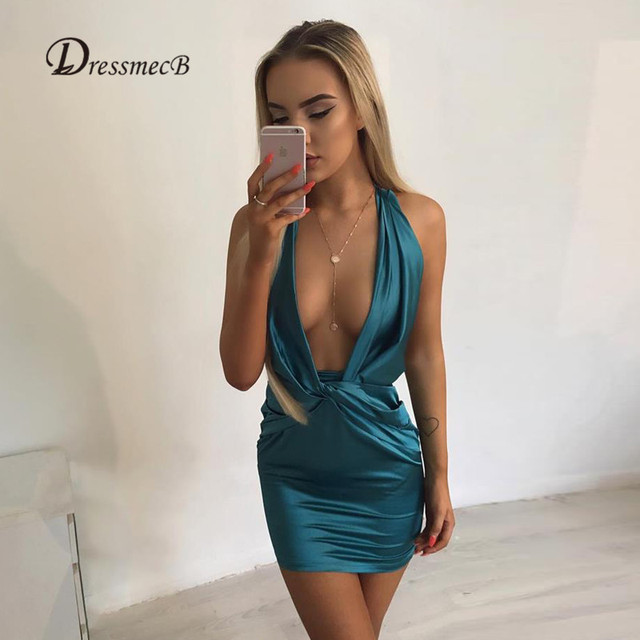 dresses Sexy backless
