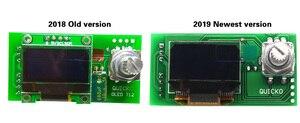 Image 5 - QUICKO STC OLED T12 952 الرقمية متحكم في درجة الحرارة لحام محطة الحديد أطقم صناعة يدوية مع حافظة معدنية ومقبض سبيكة سوداء