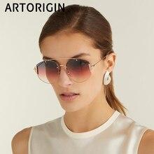 New 2019 Women Brand Sunglasses Rimless Metal Europe Fashion
