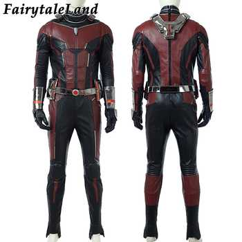 Ant-Man 2 Scott Lang Ant-Man Cosplay Costume Halloween Costumes Ant-man and the Wasp Cosplay Antman costume Superhero jumpsuit
