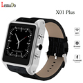 Lemado X01 Plus Android 5.1 Smartwatch Phone MTK6572 1GB RAM 8GB ROM 3G WiFi GPS SIM card Smart Watch for android phone