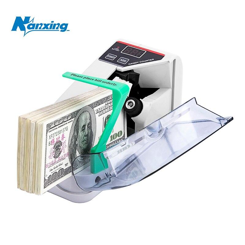 o envio gratuito de mini portatil handy dinheiro contador para todos moeda bill nota contando dinheiro
