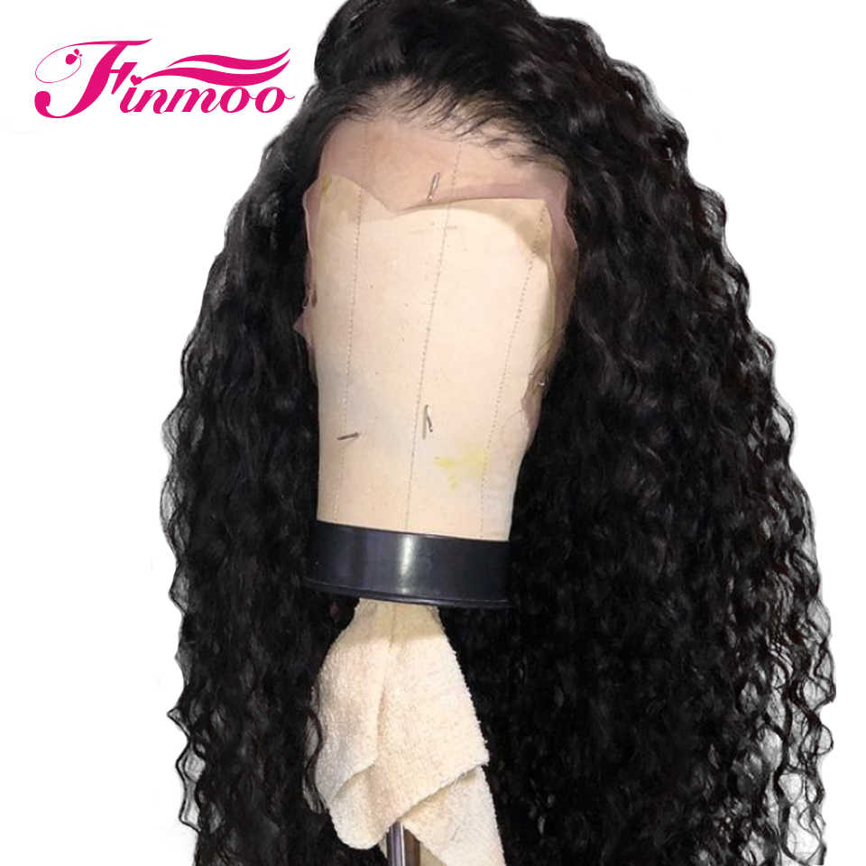 Silk Base Lace Front Wigs Malaysia Remy Hair Pre-Plucked With Baby Hair Natural Hairline Curly Wig Bleaches Knots 8-24 Inch
