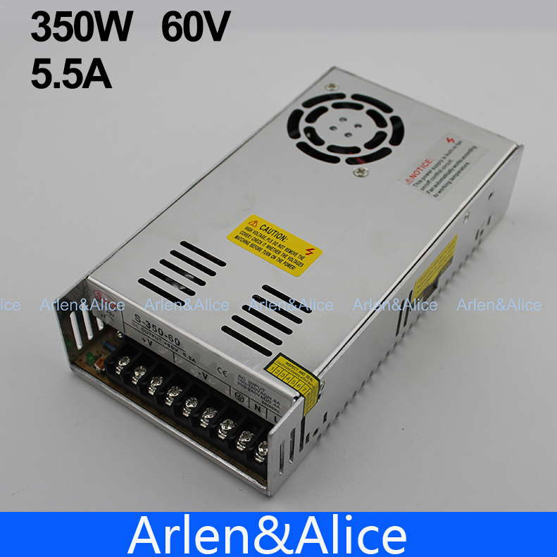 350W 60V 5.8A Single Output Switching power
