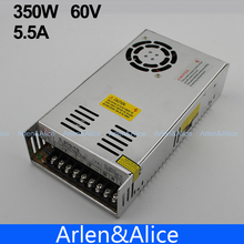 350W 60V 5.8A  Single Output Switching power supply AC TO DC for CNC Led strip