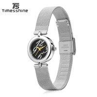 Timesshine Women Watches Waterproof Stainless Steel Quartz Watch Lady Casual Hours Bracelet Watches Women Lover S