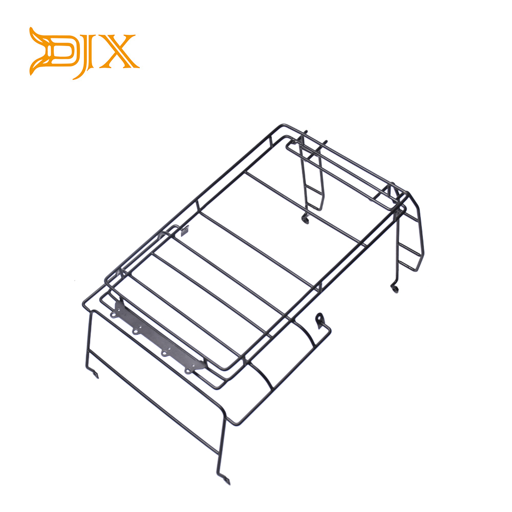 1:10 Metal Roof Luggage Stand Rack For RC Land Rover RC4WD D90 Wrangler Defender