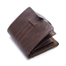 New Genuine wallet women Leather Men Wallets with Coin Pocket Hasp & zipper Male Clutch Casual Wallet for Credit Card Holder hot sale new fashion black coffee colors genuine leather men wallet s with coin change pocket hasp zipper purse wallets for men