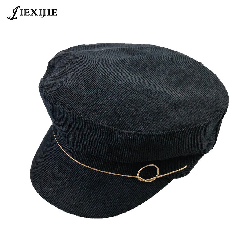 5c1f1d91287 highquality Berets 2018 new female Korean British octagonal cap tide  Japanese painter hat pumpkin hat leisure wild hat for women-in Berets from  Apparel ...