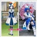 FAIRY TAIL Juvia Loxar Cosplay Anime Party Lolita Falda Ropa de Mujer Traje Por Encargo Cualquier Tamaño